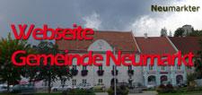 Die Webseite der Gemeinde Neumarkt